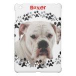 White Boxer Photo iPad Mini Case