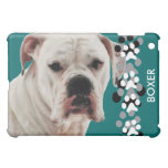 White Boxer Photo iPad Mini Case