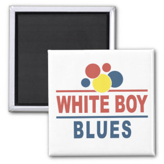 White Boy Blues Fridge Magnets