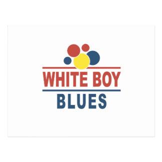 White Boy Blues Postcard