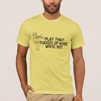 White Boy Music Tee Shirt