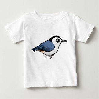 White-breasted Nuthatch Baby T-Shirt