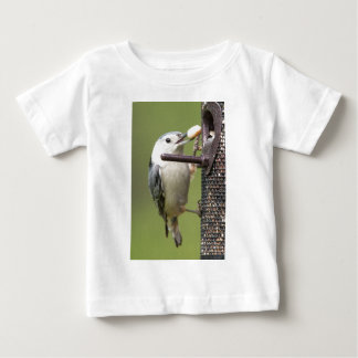 White Breasted Nuthatch Baby T-Shirt