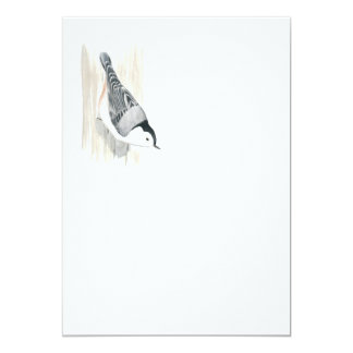 White-breasted Nuthatch Invitation