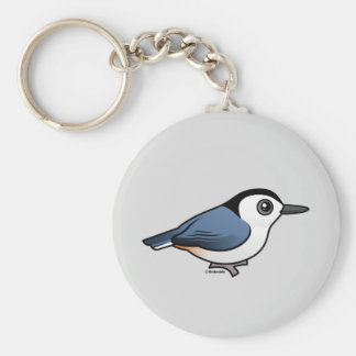 White-breasted Nuthatch Keychains
