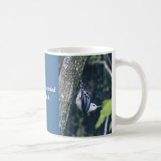White - Breasted Nuthatch Classic White Coffee Mug