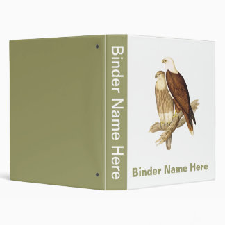 White Breasted Sea Eagle. Large Bird of Prey. 3 Ring Binder