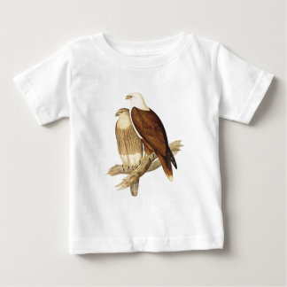 White Breasted Sea Eagle. Large Bird of Prey. Baby T-Shirt