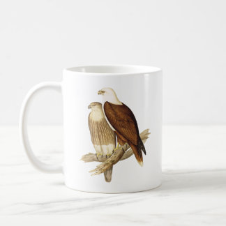 White Breasted Sea Eagle. Large Bird of Prey. Coffee Mug