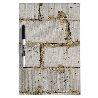 White Brick Dry Erase Board