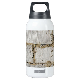 White Brick Insulated Water Bottle