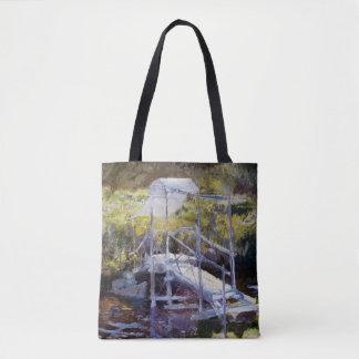 White Bridge by John Twachtman Tote Bag