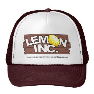 White/Brown Lemon Inc. Logo Hat