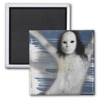 white bruxa magnet