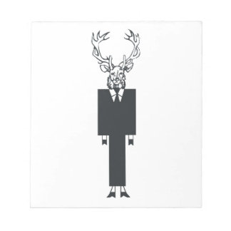 White Buck Notepad