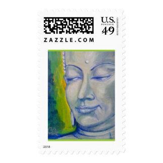 White Buddha Postage