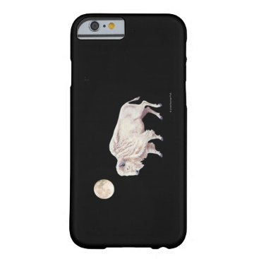 linda_mn White Buffalo Full Moon Barely There iPhone 6 Case