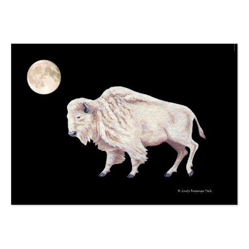 White Buffalo Full Moon Business Card