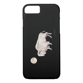 White Buffalo Full Moon iPhone 8/7 Case