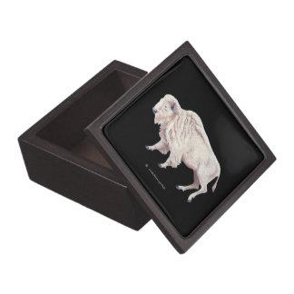 White Buffalo Full Moon Premium Keepsake Box