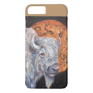 White buffalo iPhone 8 plus/7 plus case