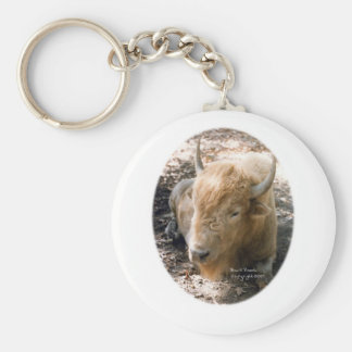 White Buffalo Keychains