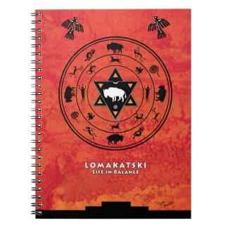 White Buffalo Medicine Wheel Notebook