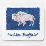 White Buffalo Mouse Pads