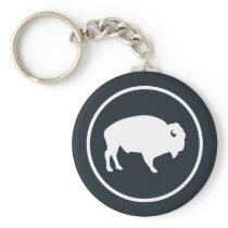 White Buffalo Outdoors Key Chain