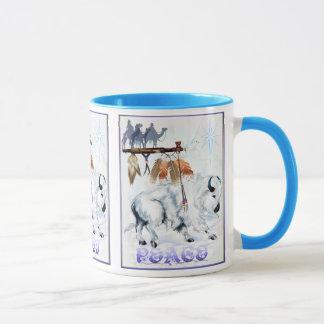 White Buffalo Shield Mug