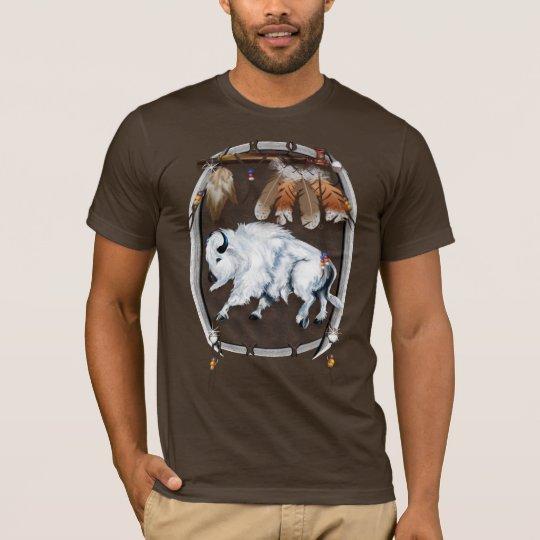 White Buffalo Shield Shirts