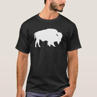 White Buffalo Silhouette Shadow Beast T-Shirt
