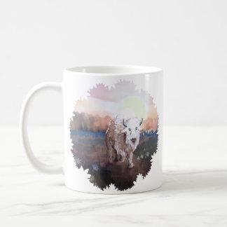 White Buffalo spirit Coffee Mug