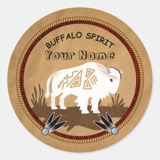 White Buffalo Spirit Stickers