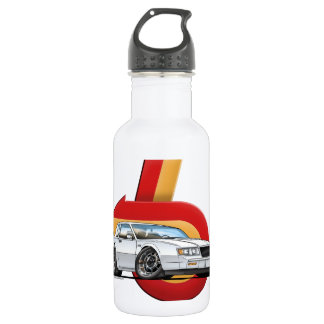 White Buick Grand National 18oz Water Bottle
