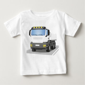 white building sites truck baby T-Shirt