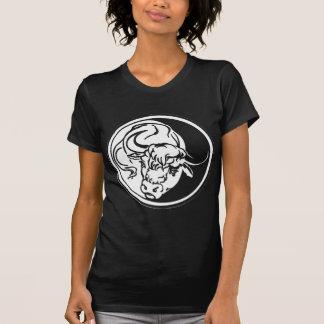 White Bull llustration T-Shirt