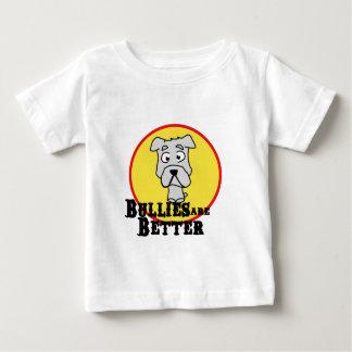 White Bulldog Baby T-Shirt