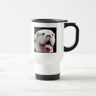 White Bulldog Mug