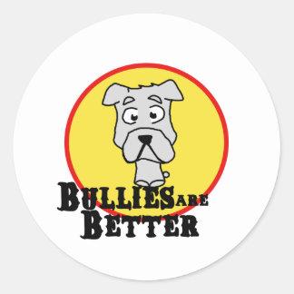 White Bulldog Sticker