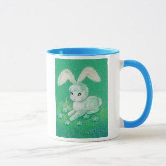 White Bunny Rabbit With Floppy Ears Mug
