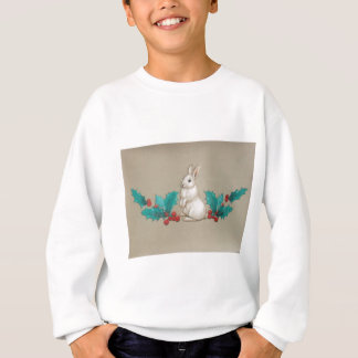 White Bunny Sweatshirt