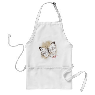 White Butterflies are a Pest Adult Apron