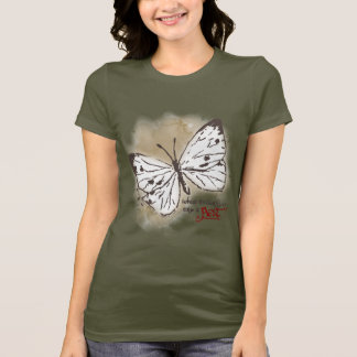 White Butterflies are a Pest T-Shirt