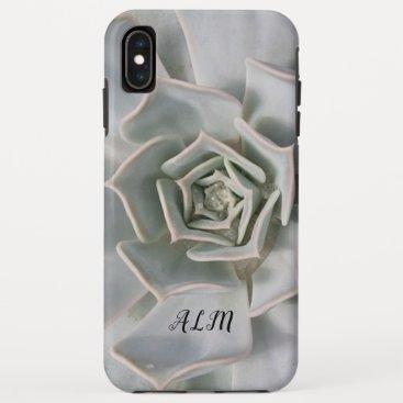 White Cactus - Monogram - iPhone XS Max Case
