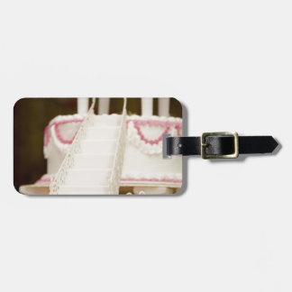 White Cake Tag For Luggage