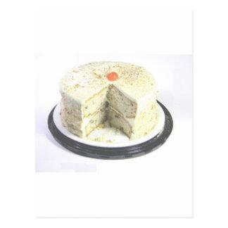 White Cake Postcard