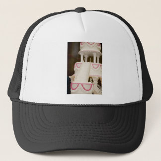 White Cake Trucker Hat