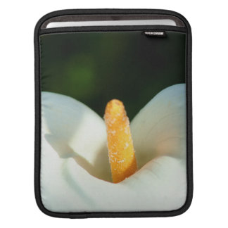 White cala lily flowers sleeves for iPads