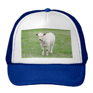 White Calf Trucker Hat